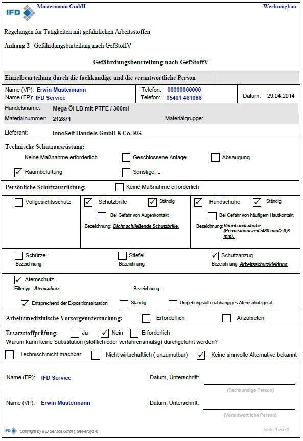 muster einer gefhrdungsbeurteilung gefhrdungsbeurteilung gefhrdungsbeurteilung gefhrdungsbeurteilung - Gefahrdungsbeurteilung Gefahrstoffe Muster